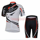 Men Wear Cycling Clothing Bike Bicycle Sportwear Short Sleeve Jersey Shorts Set