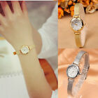 Fashion Women Watch Bracelet Stainless Steel Crystal Dial Quartz Wrist Watches image