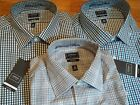 NWT $45. MSRP, Mens Arrow Fitted No Iron Heritage Poplin Cotton Blend Shirt