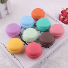 Women Cute Storage Box Cute Mini Macarons For Jewelry Earring Box Outing Travel