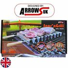 OUTDOOR BARBEQUE PARTY GRILL COOKWARE BBQ ACCESSORY KEBAB SKEWERS AND TRAY
