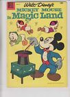 Four Color #819 FN+ walt disney's mickey mouse in magic land 1957 silver age