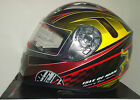 MANN3 ISLE OF MAN TT MOTORBIKE HELMET SIGNED BY JOHN MCGUINNESS