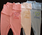 I Love My Daddy Baby Grow Vest Clothes Blue Pink White Boy Girl Funny Gift