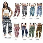 Pants PDC Thailand Elephant Harem Genie Baggy Aladdin Casual Yoga Boho Women Men