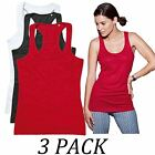 3-PACK-Active By Stedman Womens 140 Tank Top Vest