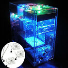 Personalized DIY Clear Acrylic Computer Desktop Case Box F Water Cooling System
