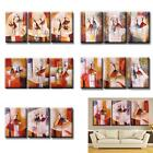 3pcs/set Oil Painting Modern Abstract Ballet Dancer Hand-painted Canvas V9H0