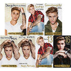 Justin Bieber Birthday Greeting Card Sister Niece Daughter Granddaughter 13 16