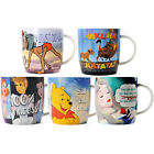 Disney Ceramic Mug Lion King Sleeping Beauty Princess Winnie the Pooh Jungle