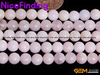 6mm 8mm Natural Light Pink Opal Round Loose Beads For Jewelry Making Strand 15''
