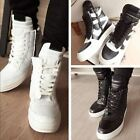 New 2016 Men's High Top Sneakers Ankle Fashion Lace Up Skateboard Casual Shoes