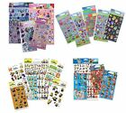 STICKER BUNDLE PACKS - Kids Character Disney Party Loot Bag Filler Mega Reward