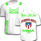STRYKER CREST FLAG WORLD CUP SOCCER LONDON OLYMPIC MMA T-Shirt TOP Puerto Rico *