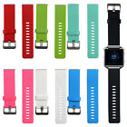 For Fitbit Blaze Smart Watch Silicone Rubber Strap Band w/ Quick Release Pins