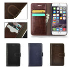 Genuine Real Leather Wallet Flip Stand Case Cover for iPhone 6 & iPhone 6 Plus