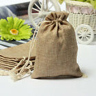 Flaxen Cotton Linen Sack Storage Gifts Bag For Tea Perfume Small Jewelry Phone
