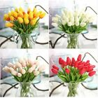 Artificial Fake Tulip Silk Flower Bridal Hydrangea Home Wedding Garden Decor