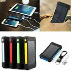 300000mAh Dual USB Portable Solar Battery Charger Solar Power Bank For Phone NEW
