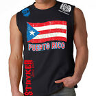 Puerto Rico Soccer Team Adult MMA UFC Mens Sleeveless Muscle Tank Top  w