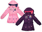Girls Disney Frozen Sisters Anna Elsa Follow Your Heart Anorak Coat 4 to 8 Years