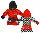 Boys Disney Pixar Cars Lightning McQueen Hooded Dressing Gown 3 to 8 Years