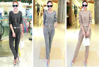 NEW! Fashion Women's clothing Shitsuke profession Casual long sleeve two-piece