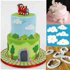 DIY High-Heeled Shoes Cake Mould Cloud Peral Lace Embosser Cutter Fondant Baking