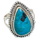 Shattuckite 925 Sterling Silver Ring Size 7 Ana Co Jewelry R766987