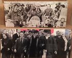 "2 Different Quadraphenia Canvas 24""x10"" On A Wooden Stretcher Frame,"