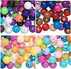 280 BULK Acrylic Plastic Round Smooth Spacer Beads 10MM