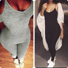 New Women's Sleeveless Bodysuit Jumper Bodycon Bandage Lady Jumpsuit long Romper