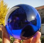 100mm Big Crystal Glass Ball FengShui Home Office Deco Gift + Free Clear Base