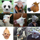 New Overhead Animal Mask Head Masks Masquerade Cosplay Fancy Dress Up Carnival