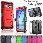 Shockproof Rugged Tough Armor Heavy Duty Case Holster Bel For Samsung Galaxy ON5
