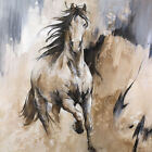 Frison by Cyril Réguerre Art Print Poster - Horse Western Wildlife Country Decor