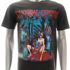 Sz M L CANNIBAL CORPSE T-shirt Heavy Metal Rock Band Dead Evil Many Size Cc10