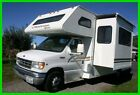 2002 Thor Motor Coach Chateau Sport 24' Class C RV E-450 V10 Gas Side Out Hitch