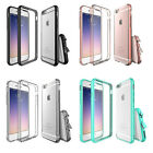 For iPhone 7 7 Plus Anti Shock Crystal Decorative Bumper Clear Phone Cover Case