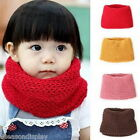 FL Winter Neckerchief Children Cotton Baby Warm Soft Boys Girls Scarves Knitted