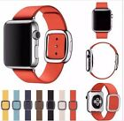 Hot Modern style Genuine Leather Band strap Cuff For Apple iWatch 38/42mm Watch