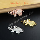 Similar 1Pcs Cute Elephant Cubic Zirconia Cooper Crystal Connector AWX033