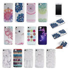 Fashion Lace Flower Decoration Protective TPU Case Cover For iPhone 7 7 Plus
