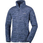 Columbia Fast Trek Printed Womens Jacket Fleece - Bluebell Strata All Sizes