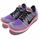 Wmns Nike Free RN Flyknit Run Multi-Color Black Womens Running Shoes 831070-604