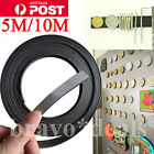 5M/10M Flexible Self Adhesive Magnet Rubber Magnetic Powder Roll Tape Strip 2mm