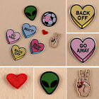 8Pcs Embroidery Sew Iron On Patch Badge Bag Clothes Fabric Applique DIY 4 Styles