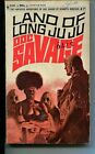 DOC SAVAGE-LAND OF LONG JUJU-#47-ROBESON-G-JAMES BAMA COVER-1ST EDITION G