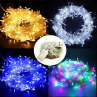 300/500LED Christmas Xmas Tree Fairy String Lights Outdoor Indoor With UK Plug