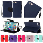 For iPhone 7 PLUS Premium PU Leather Wallet Flip Card Holder Cover Case